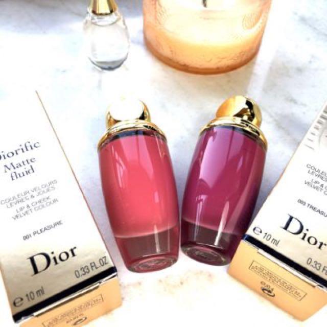 Dior金燦絲絨唇頰彩