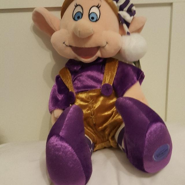 Disney Snow white Dwarf Plush