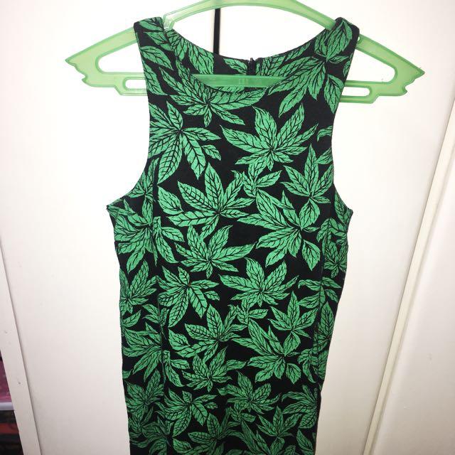Doja Printed Halter Dress
