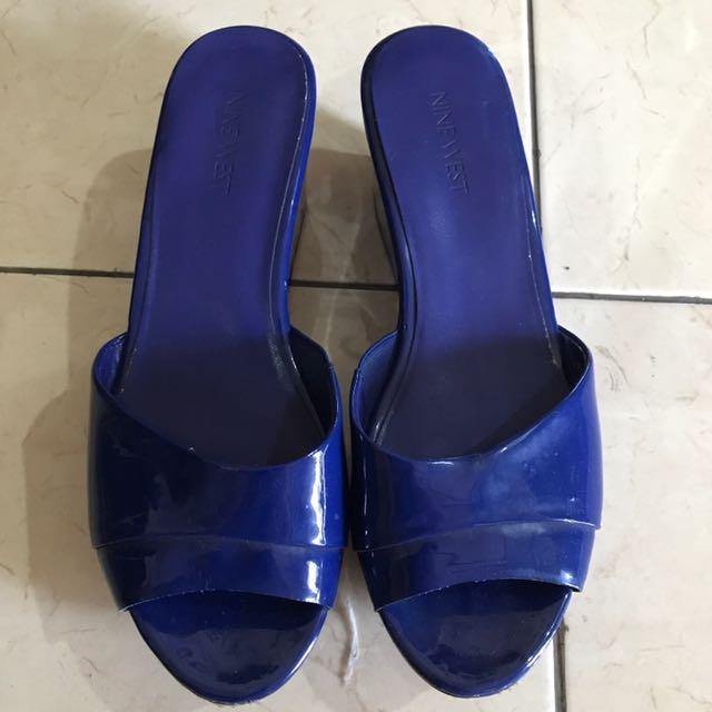 Electric Blue Sandal Nine West