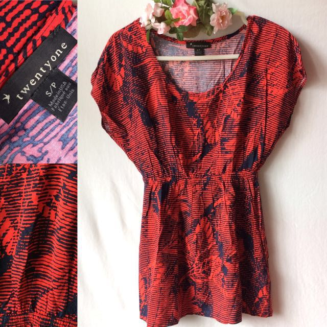 F21 Gypsy Top (Preloved) | Size: S
