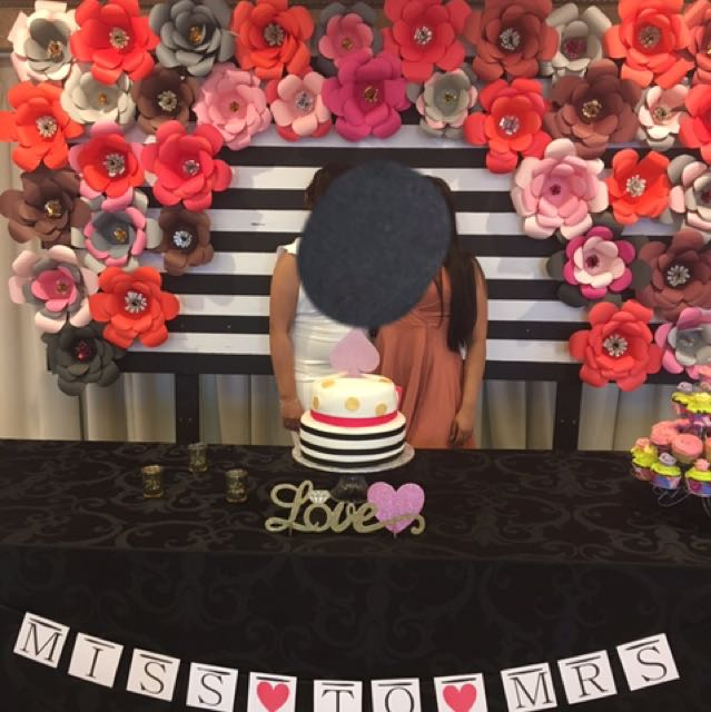 FLOWER BOARD BACK DROP for special events