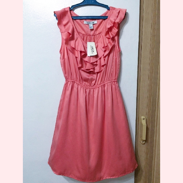 Forever 21 Coral Pink Dress