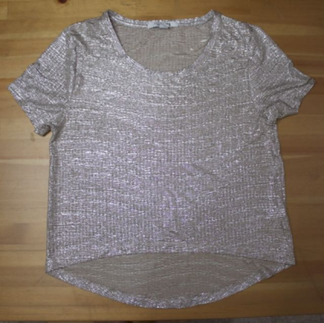 Forever 21 Shimmery Top
