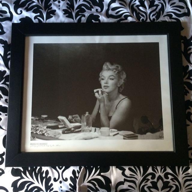 Framed Marilyn Monroe Photograph