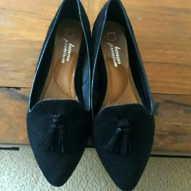 *Free Second Pair* Genuine Leather Flat Shoes