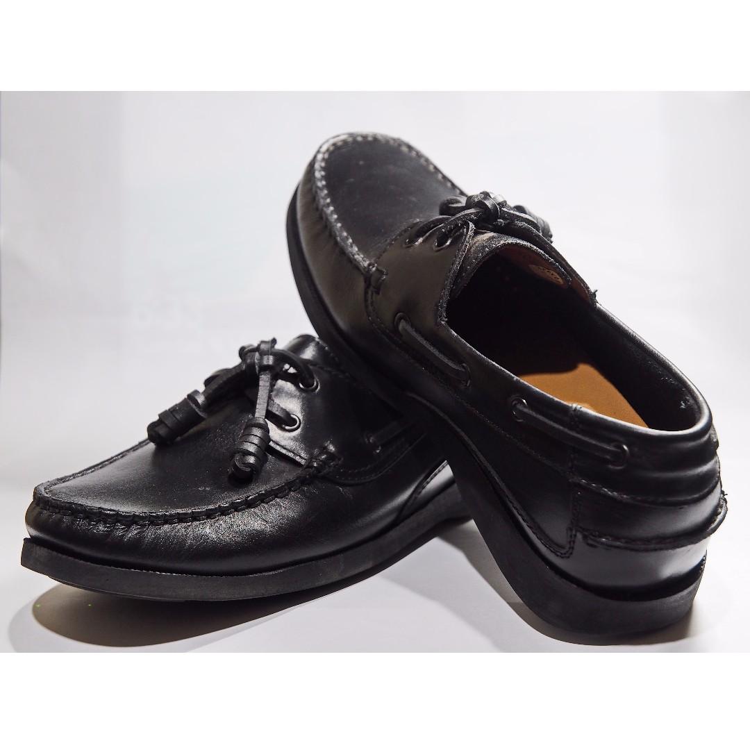 fa7fe438c3e GIBI black shoes, US-7 1/2 on Carousell