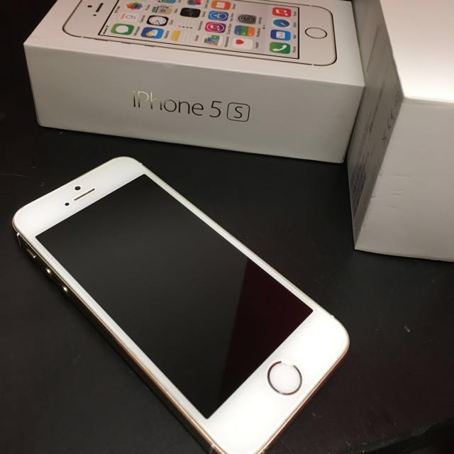 Gold iPhone 5s 16GB!