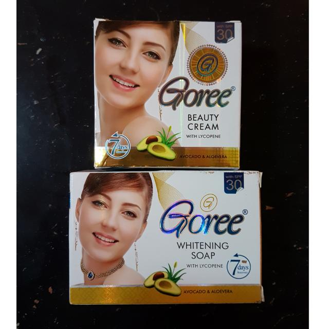Goree Beauty Cream & Goree Whitening Soap on Carousell