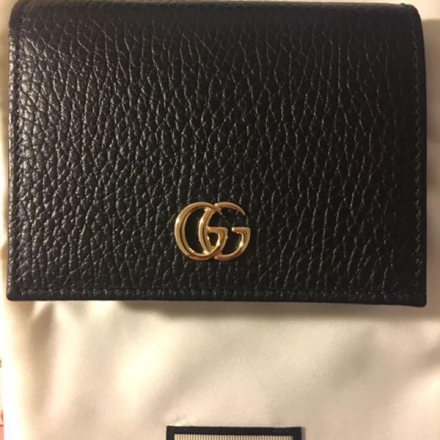 b84581fdf2e33 Gucci small wallet 全新有盒因買錯款式所以放讓