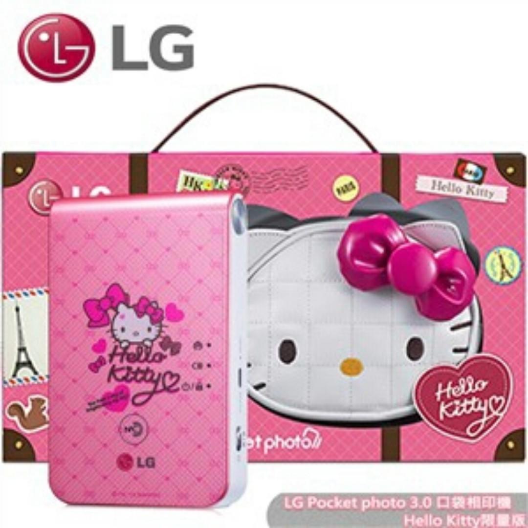 Hello Kitty~拍立得~口袋相印機~LG PD239~可連結~6s.7 plus.a9.s7.htc.oppo.asus.等智慧手機~