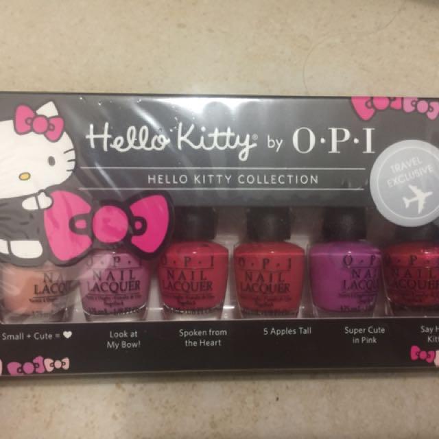 Hello Kitty OPI系列指甲油3.75ml x 6