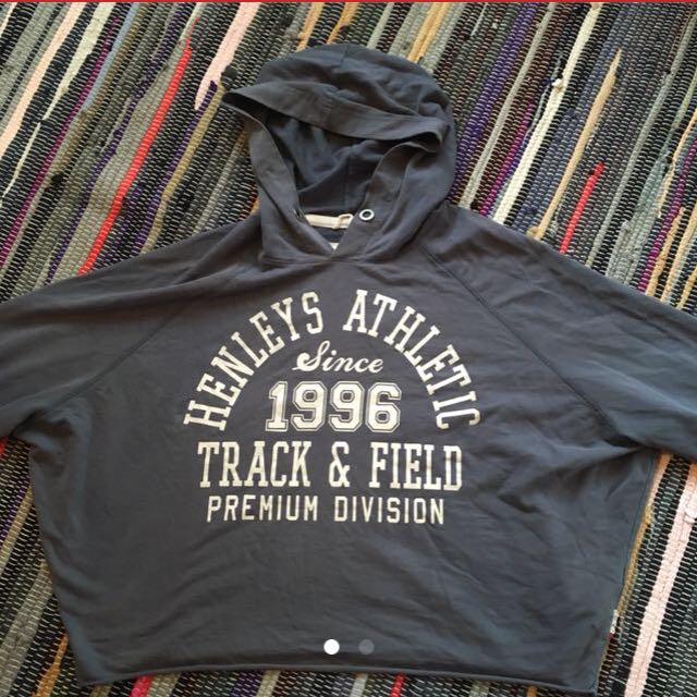 Henley hoodie