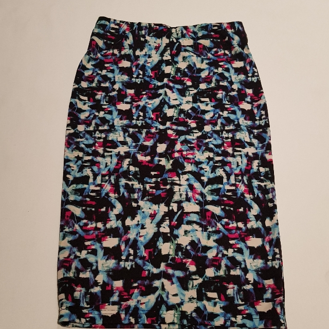 Ice Brand Size XS Multicolored Mid Skirt