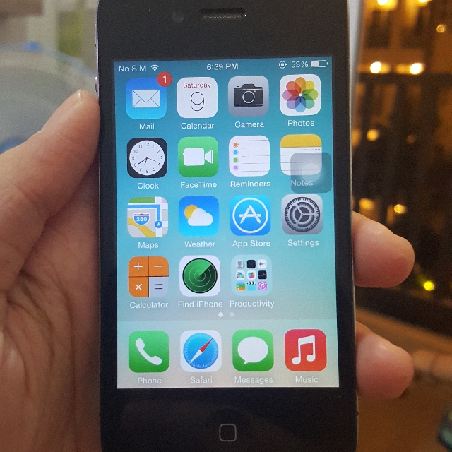 Iphone 4 GSM 16GB (ex Garansi Inter)