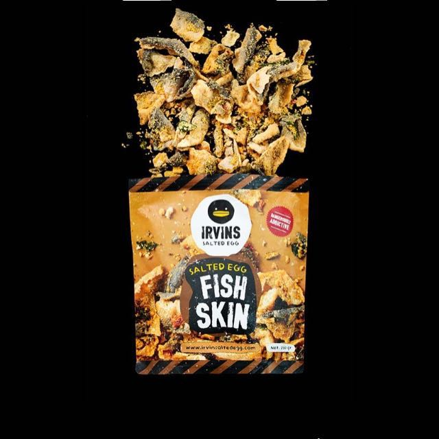 Irvin's Salted Egg Potato Chips & Fish Skin