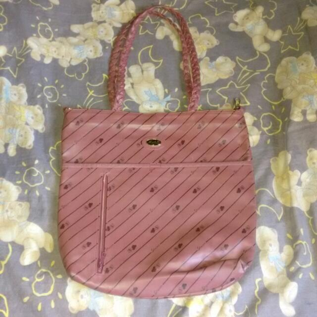 Isabelle maroon shoulder bag
