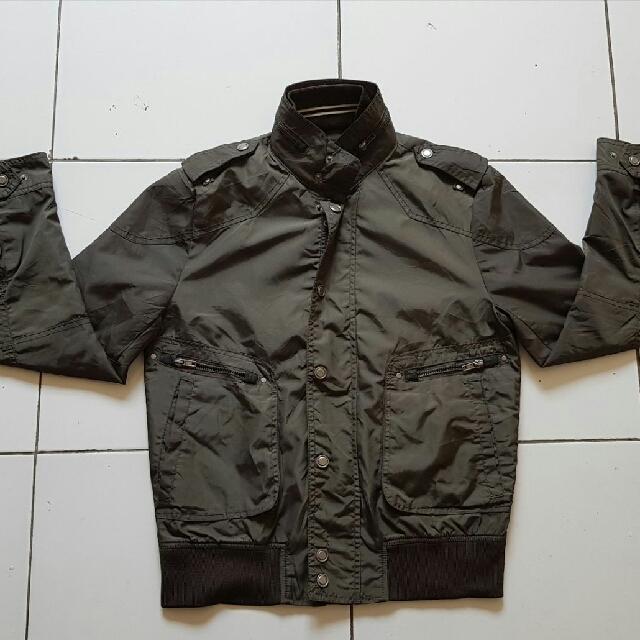 jacket pria h&m mulus original sz M