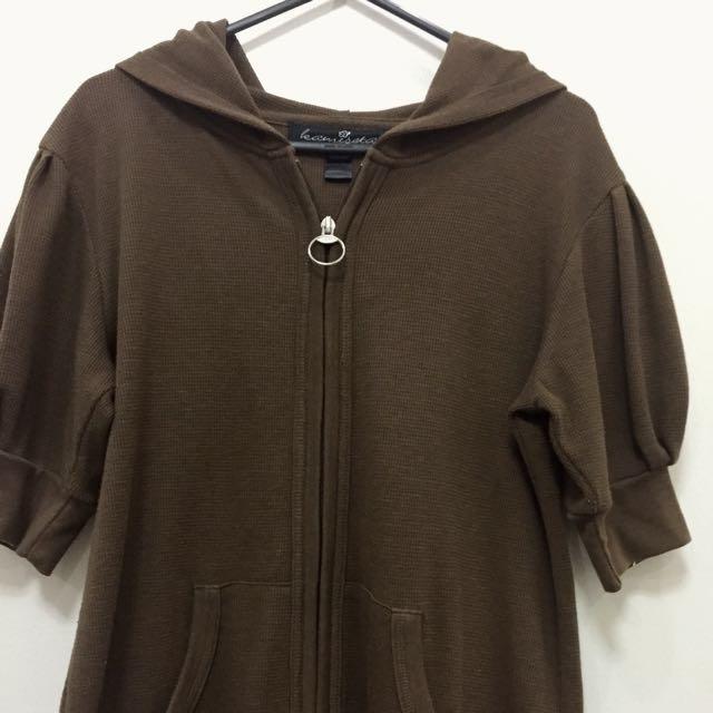 Kamiseta Short-sleeved Hoodie