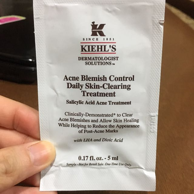 KIEHL'S Acne Blemish Control Daily Skin-Clearing Treatment (5 ml)