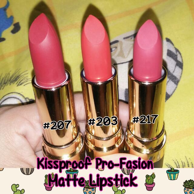 KissProof Pro-fasion Matte
