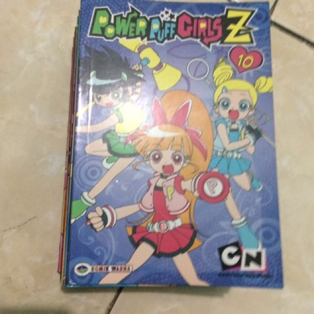 komik power puff girl