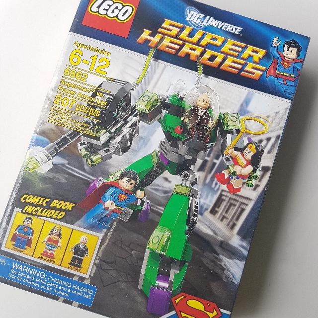Lego BNIB 6862 Superman vs Power Armour Lex
