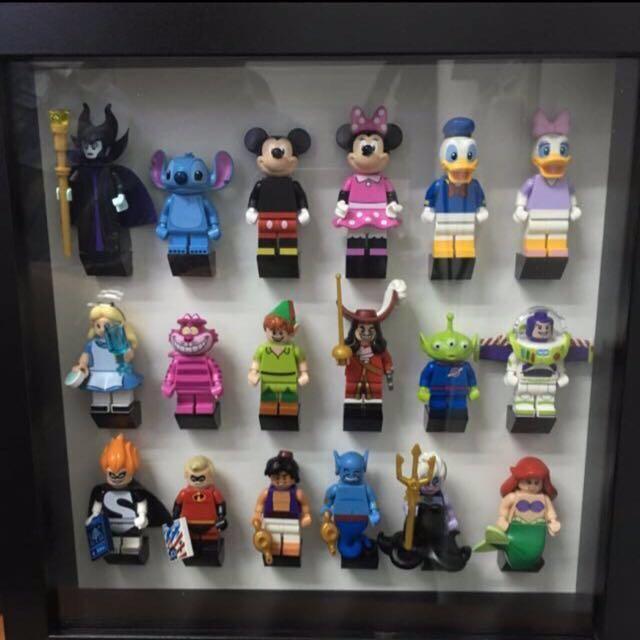 Disney 2 Frames LEGO Minifigure Display Cases // Frames Series 1