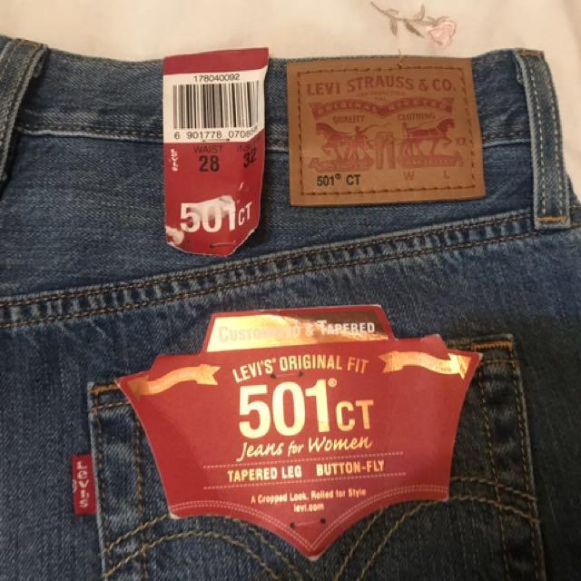Levis501 經典款全新