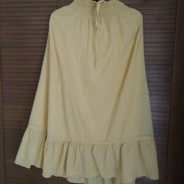 Long Skirt Maxi Uniqlo