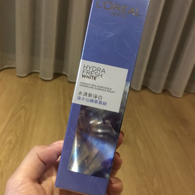 L'Oréal 海水仙精華慕斯