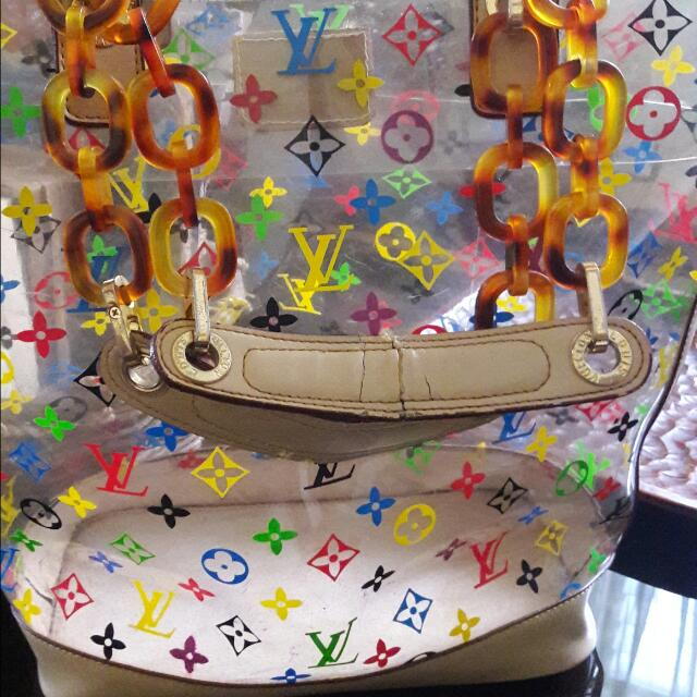Louis Vuitton Multicolore Bag With Flaws