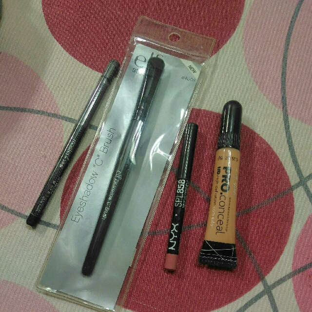 MAKEUP BUNDLE NYX ELF MAYBELLINE LA GIRL