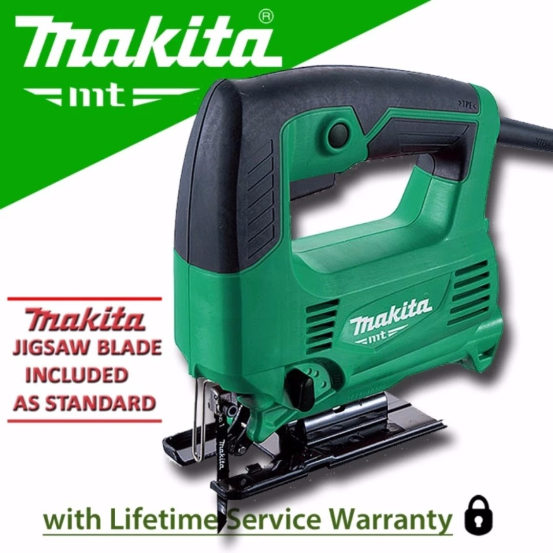 Makita m4301m jigsaw 450w black green free delivery in all ncr area photo photo greentooth Gallery