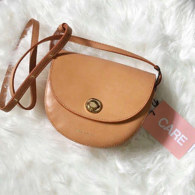 0bcefb91b Mansur Gavriel Camello Mini Saddle Bag, Luxury, Bags & Wallets on Carousell