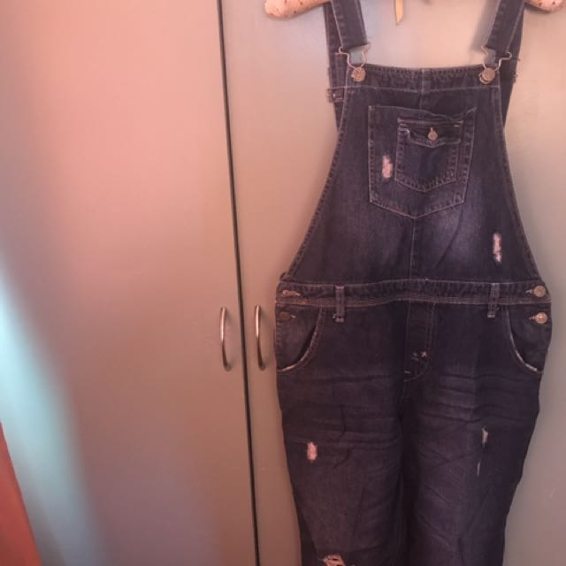 Maong overalls