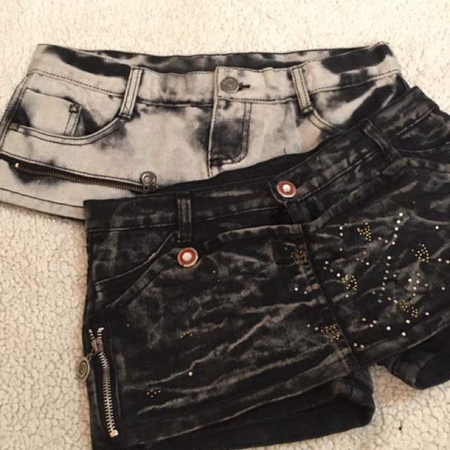 Maong Shorts Shorts