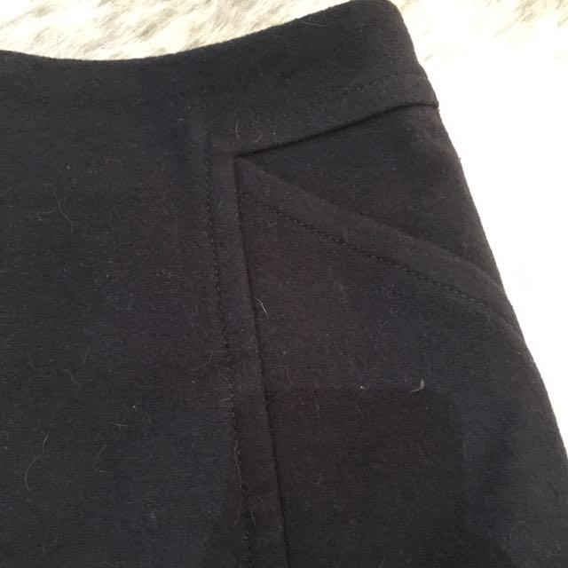 Marcs Size 8 Mini Skirt - Felted Wool