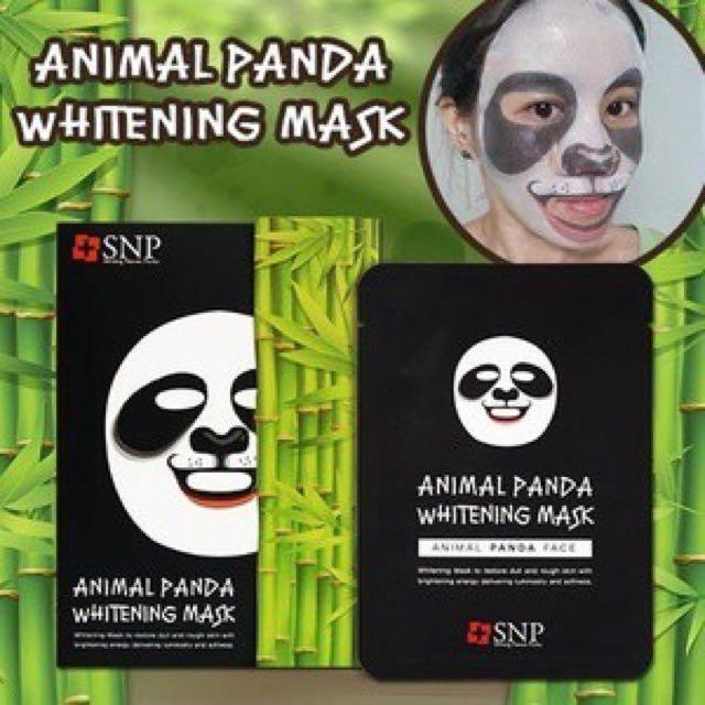 Mask animal panda