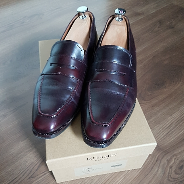 d17396ccff1 Price reduction! Meermin Naturcalf Vintage Penny Loafers
