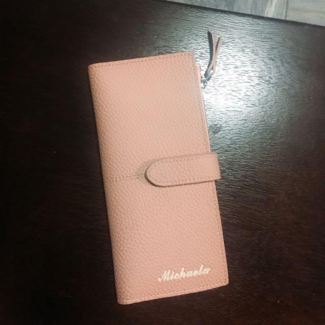 Michaela Leather Snap Wallet
