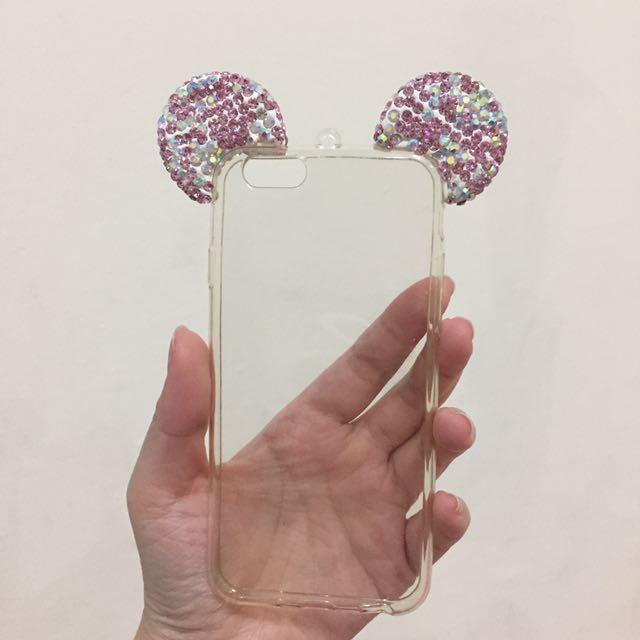 Mickey Ears Ip6 Case