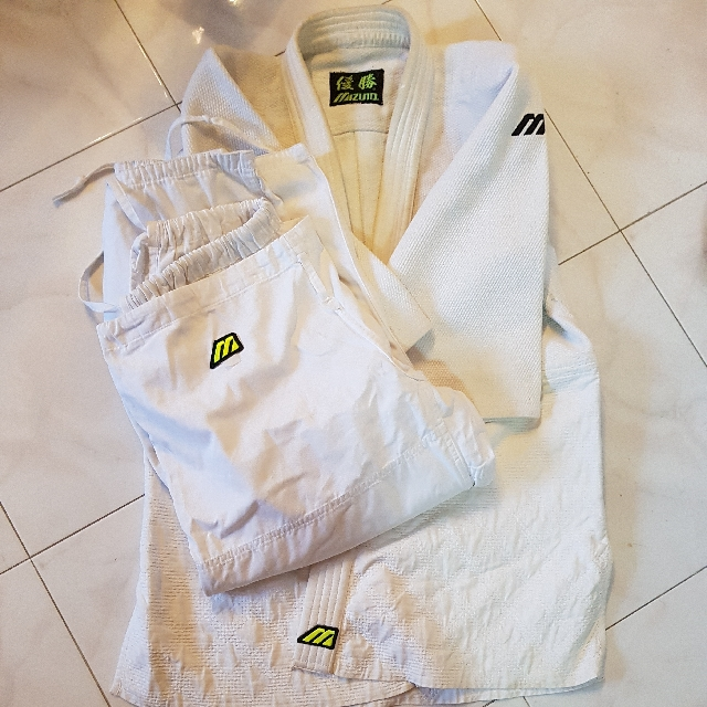 Mizuno Judo Gi, Sports, Sports & Games Equipment on Carousell