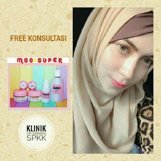 MSC Super ( Whitening, Flek & Acne) From Dr.Annisa,Spkk