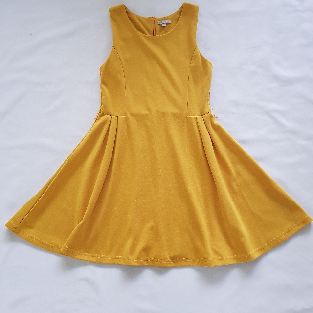 Mustard  Coloured Dress Size 10