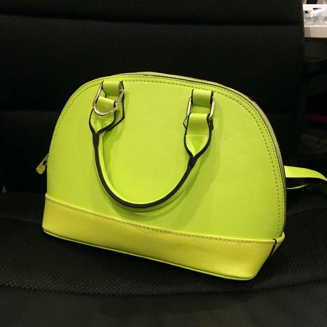 Neon color bag