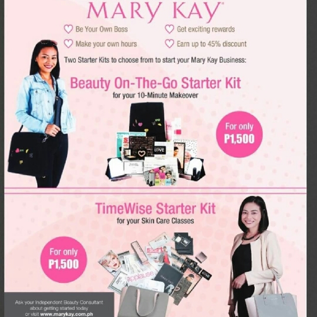New Mary Kay Starter Kit