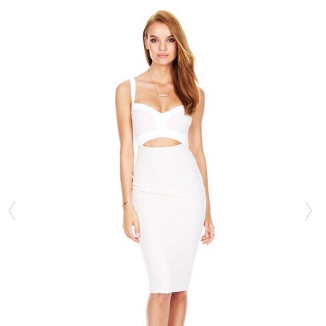 Nookie Tiana Bustier Midi Dress
