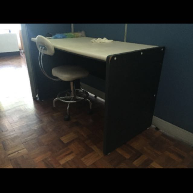 Office Desk with Rotating Chair