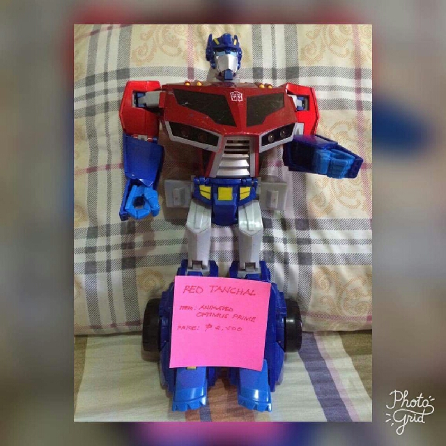 OPTIMUS PRIME - Animated Supreme Roll Out Command